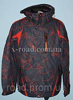 Куртка горнолыжная мужская увеличеная WHS
