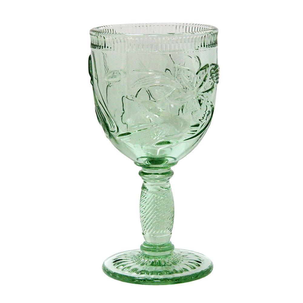 Набор бокалов DS Marple Green для вина кубки 250 мл 6 шт Зеленый