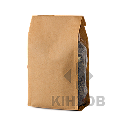 Пакет Стабіл з крафт-паперу 150х375 мм прозорі фальци