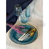 Келих для вина DS Turquoise 600 мл Бірюзовий 1 шт, фото 2