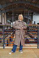 Стильне жіноче пальто в 2х кольорах ПВ-237