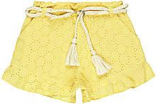 Нарядные детские шорты для девочек 3-4 года Minoti