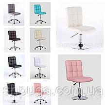 Косметичне крісло , крісло для майстра манікюру код 1015 Колір на вибір з каталогу.