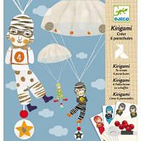 Набор для творчества DJECO Мальчики с парашютом (DJ08772) кольоровий папір, дитяча творчість