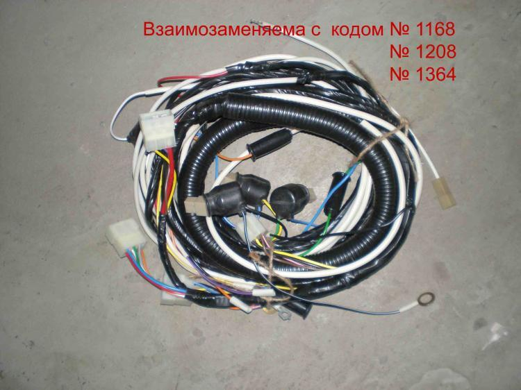 Пучок электропроводки  задний  правый. 53212-3724044