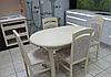 Обеденный деревянный раскладной стол ЛА-РОШЕЛЬ / БИФОРМЕР