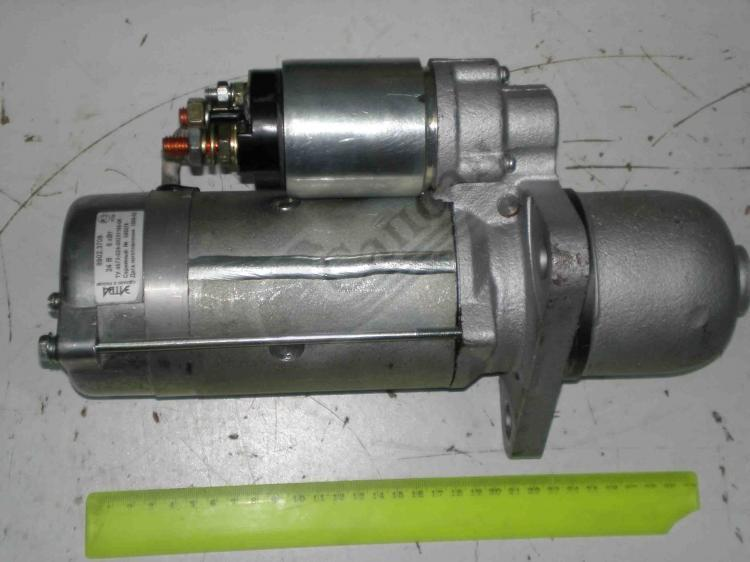 Стартер КамАЗ Z=10(24V 6kW(ПРАМО). СТ8902-3708000