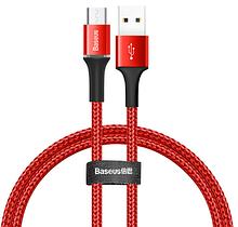 Кабель Baseus зі світлодіодним підсвічуванням MICRO USB 3A Колір Червоний 1 метр Швидка зарядка