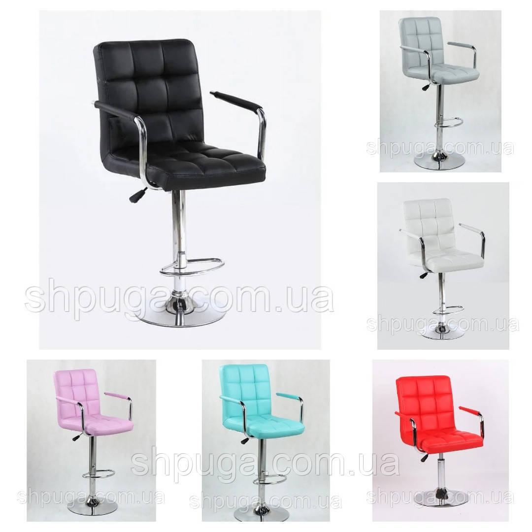 Крісло - стілець визажный , барний код 1015 шкірзам колір на вибір з каталогу.