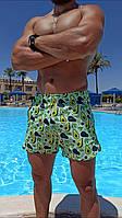 """Шорти літні чоловічі пляжні """"Авокадо"""". Супер якість., фото 1"""