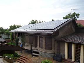Сетевая солнечная электростанция 15 кВт с АКБ. ж/м Приднепровск, Днепропетровская обл. 22