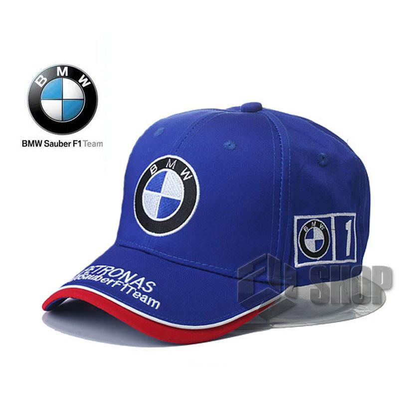 Кепка бейсболка BMW Petronas Sauber F1 Team (БМВ) синя
