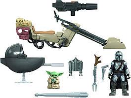 Игровой набор Мандалорец Звездные войны Hasbro STAR WARS Mission Fleet The Mandalorian