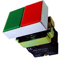 "Кнопка сдвоенная ""Пуск-Стоп"" типа NP2-BL8325 AC 6V-230V"