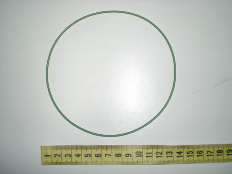 Кольцо гильзы верхнее (ФСИ-65 зеленый  фтор/силикон). 7405.1002031