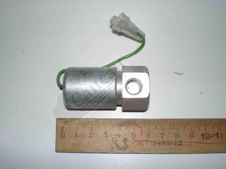 Клапан електромагнітний факельної свічки (ПРАМО). 1102.3741000