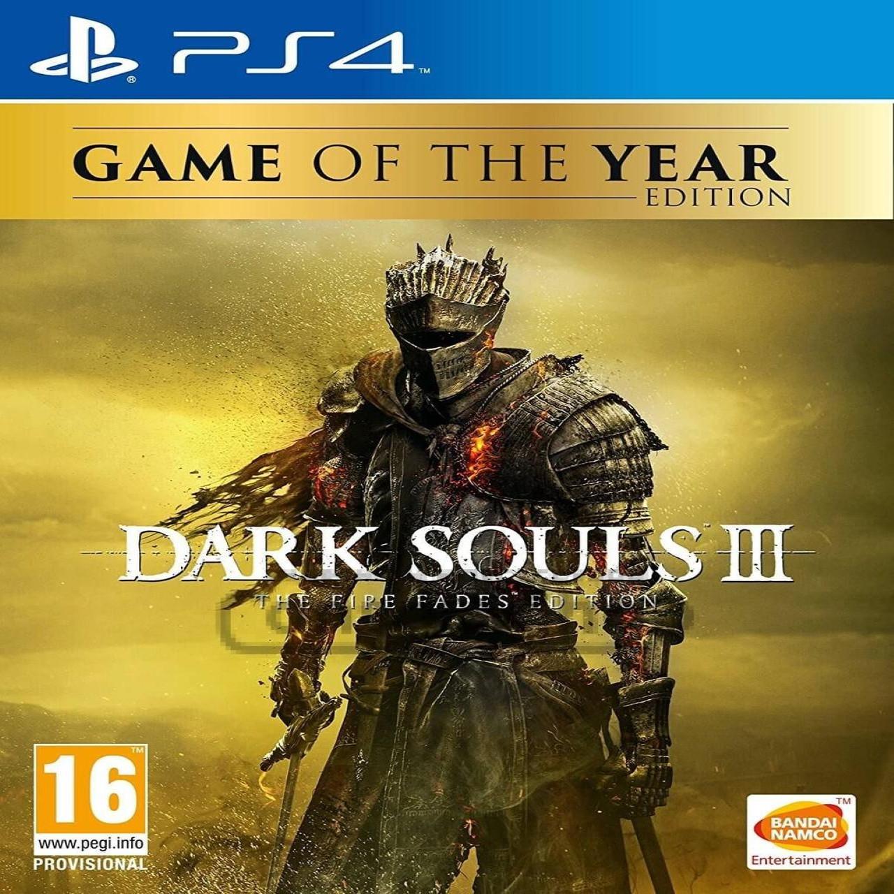 Dark Souls III GOTY (російські субтитри) PS4 (Б/В)