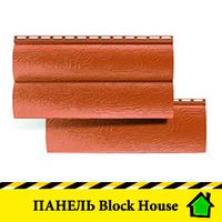 """Панель """"BlockHouse"""" под брус двухпереломный"""