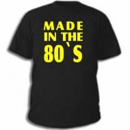 Прикольные надписи на футболках Made in the 80′s