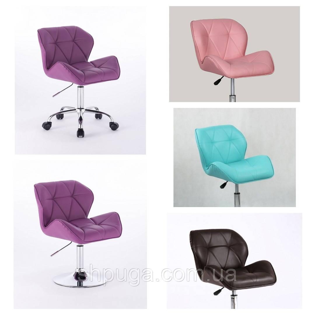 Крісло для майстра манікюру , крісло косметичне код 111. Колір на вибір з каталогу .