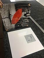Стеклянная картина - Декор - Красный зонтик 2