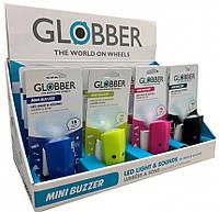 LED фонарик + гудок Globber Mini Buzzer, фото 1