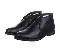 Мужские зимние ботинки CG Desert Boots Winter Black Leather Original