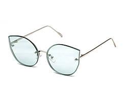 Солнцезащитные очки LuckyLOOK Зеленый (GN_LL-18010H C6)