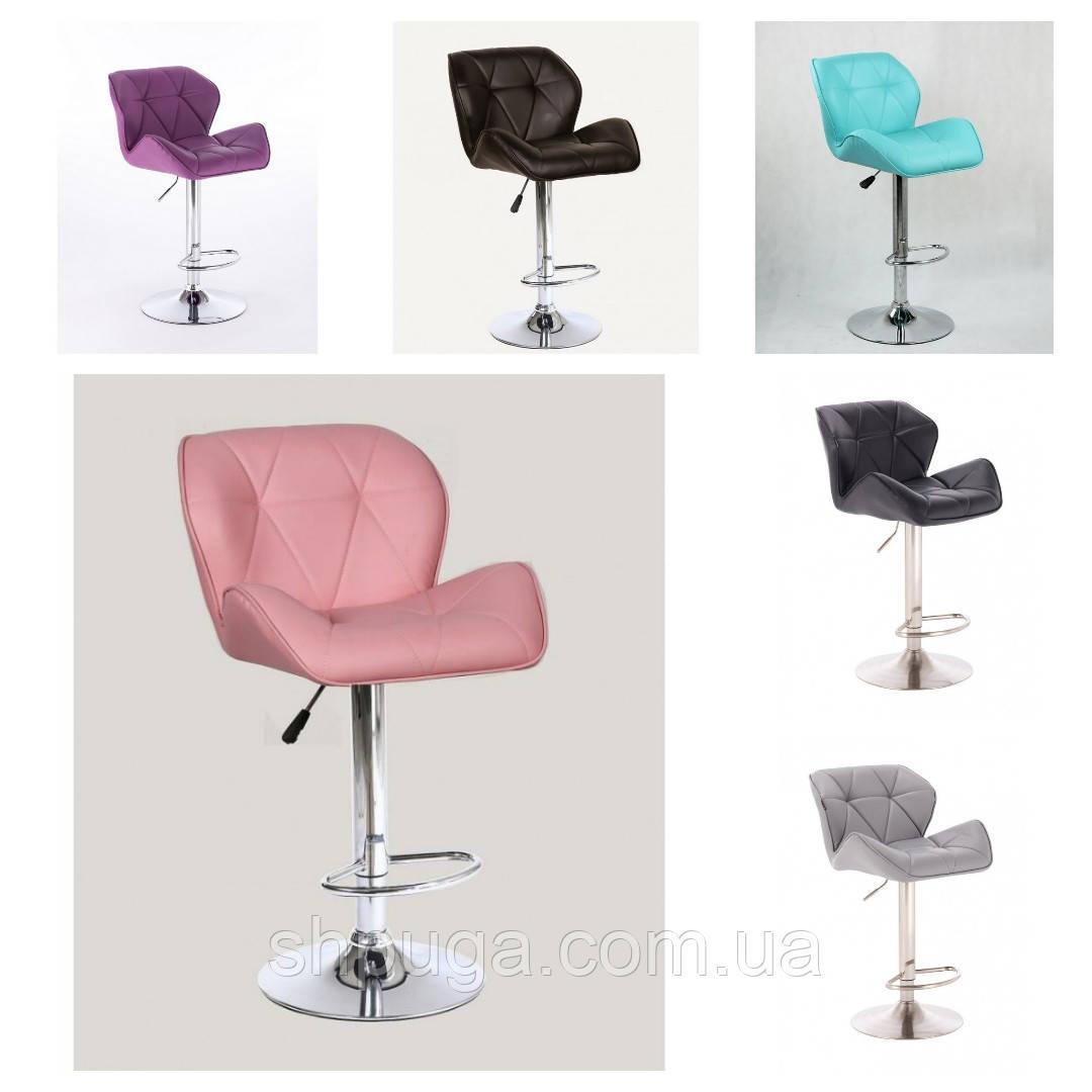 Крісло - стілець визажный , барний код 111 шкірзам колір на вибір з каталогу.