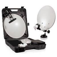 Переносной спутниковый комплект (40 см) в чемодане, Sat-Integral S-1218 HD Able