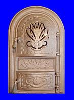 """Печное и чугунное литье: Дверь чуг. """"Dekor"""" спарка."""