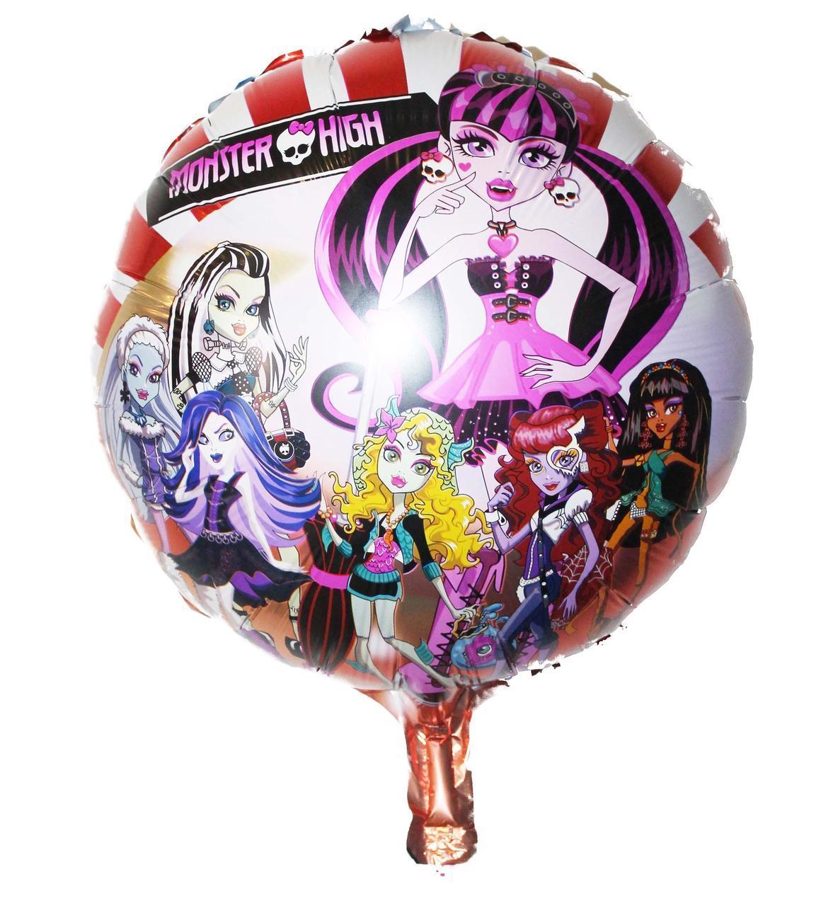 """Повітряна куля Коло 18"""" Monster High"""
