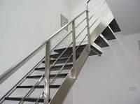 Лестница из стали