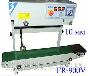 Роликовый конвейерный запайщик горизонтальный для пакетов FR-900V, шов 10 мм