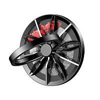 Кільце-тримач для телефону Baseus Wheel Ring Bracket Black