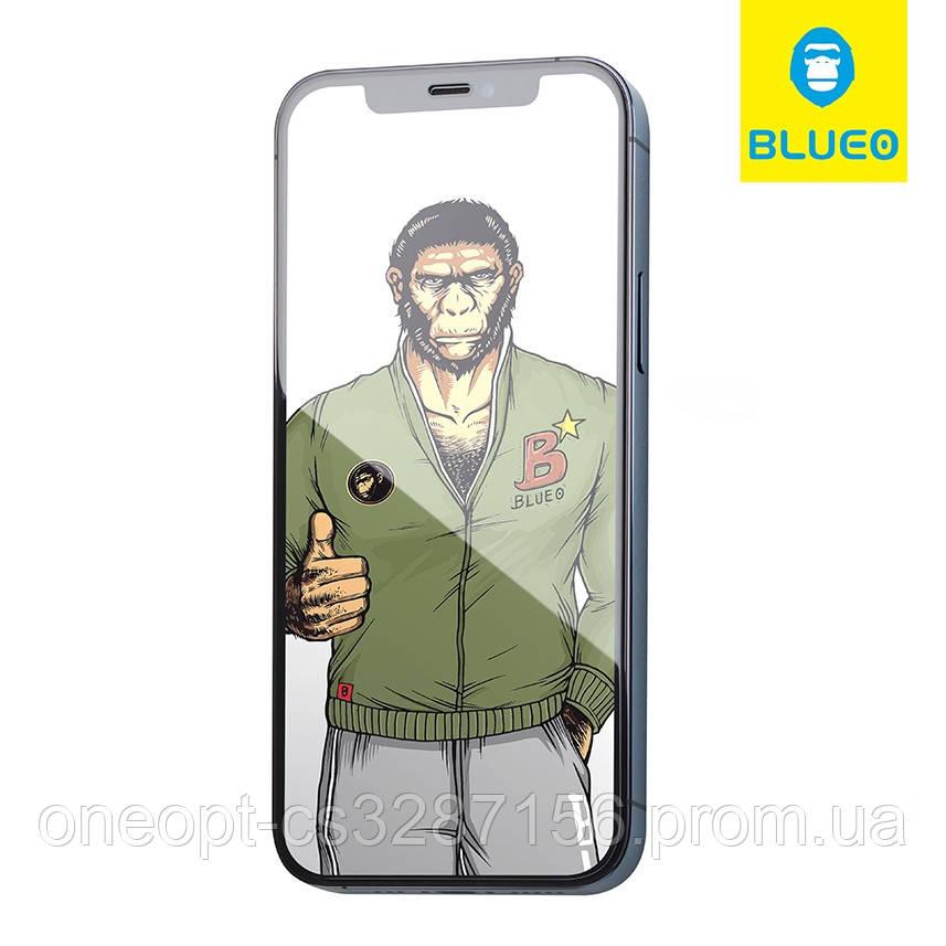 Защитное стекло 2.5D 0,26mm BLUEO 2.5D Full Cover GlassHD для iPhone 12pro Max Black