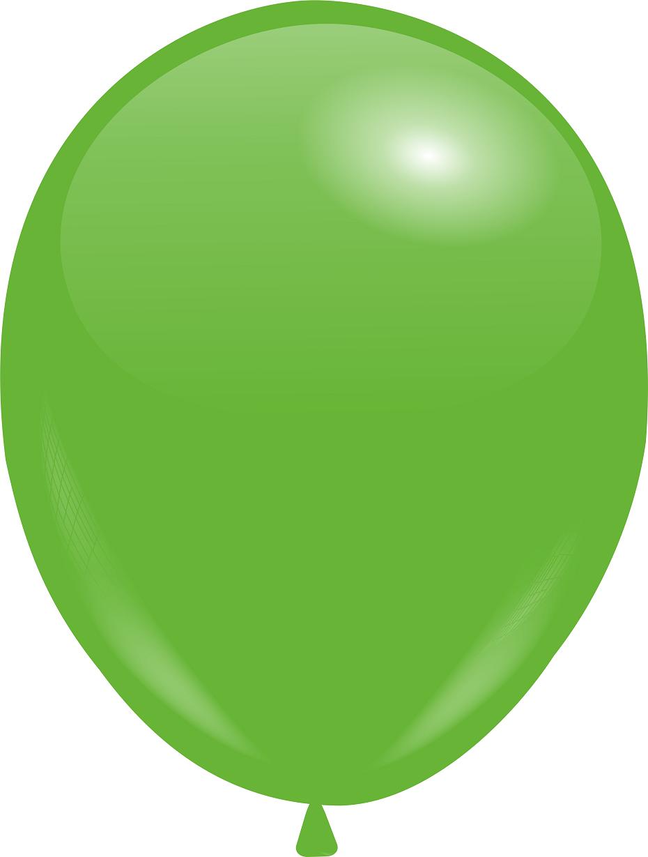 "Кулі 12""/30 см Пастель Зелений"