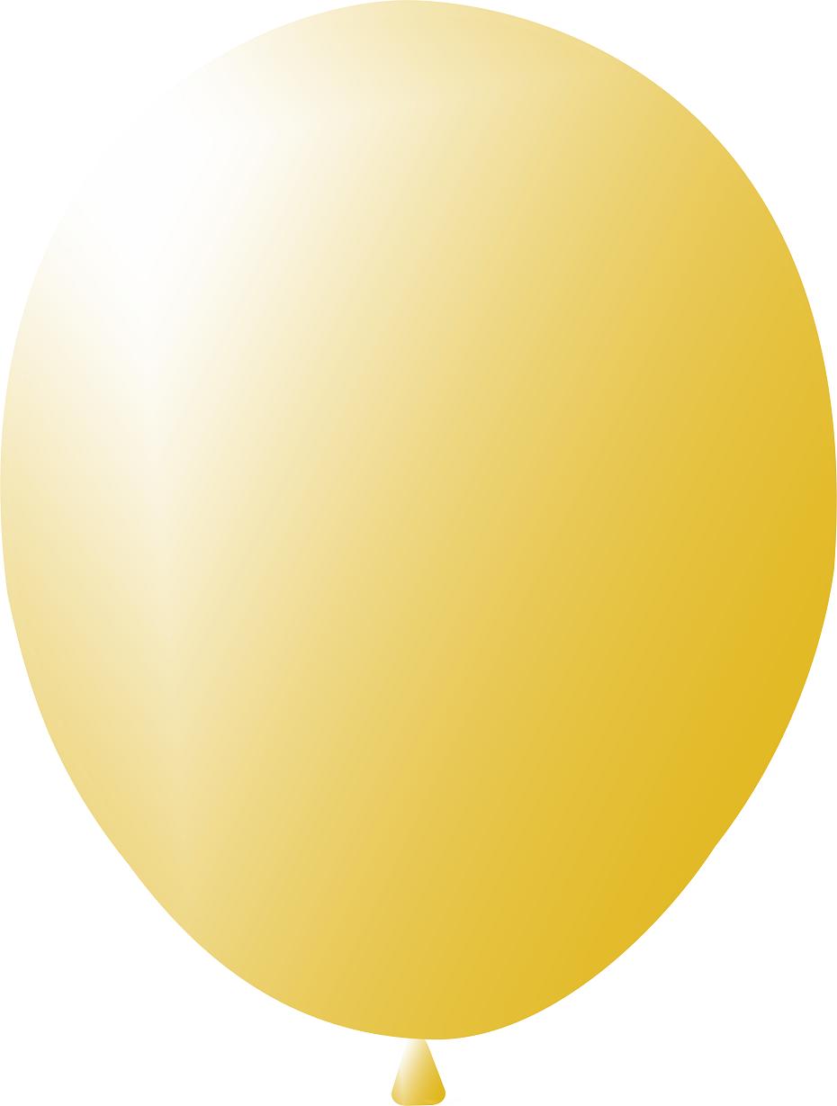 """Кулі 12""""/30 см Золотий Металік"""
