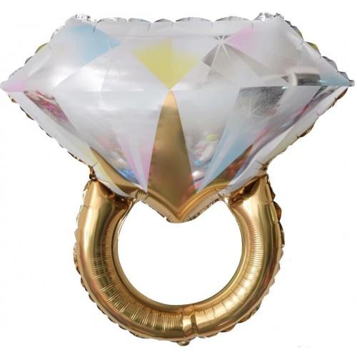 Кільце з діамантом 54х84см