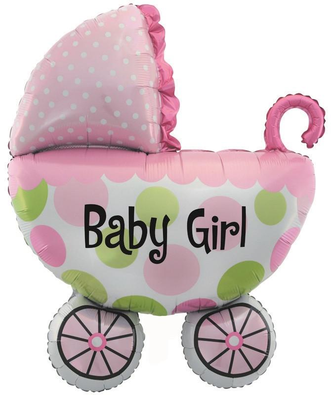 Коляска для дівчинки BABY GIRL 82х108см