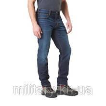 """Тактические джинсовые брюки """"5.11 Defender-Flex Slim Jean"""", [649] Dark Wash Indigo"""