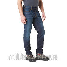 "Тактичні джинсові штани ""5.11 Defender-Flex Slim Jean"", [649] Dark Indigo Wash"