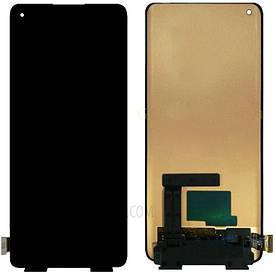 Дисплей для OnePlus 8 | 1+8 с сенсорным стеклом (Черный) OLED