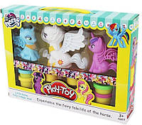 Набор Пластилина с Пони Play Toy
