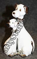 Статуэтка Собаки белая, 20 см