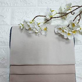 Ткань для мебели, микровелюр Симпл (Simple) молочного цвета