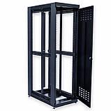 """Шкаф 19 """" 42U , 610х1055 мм ( Ш * Г ) , усиленный , черный, фото 5"""