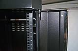 """Шкаф 19 """" 42U , 610х1055 мм ( Ш * Г ) , усиленный , черный, фото 7"""