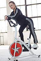 Спортивный костюм Adidas Женский кофта штаны лампасы весна/осень LUX Реплика (Размер S) Black
