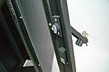 """Шкаф 19 """" 42U , 610х1055 мм ( Ш * Г ) , усиленный , черный, фото 9"""